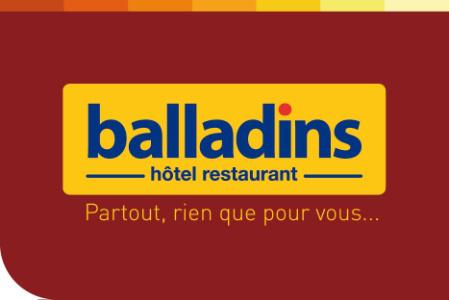 - 10% de réduction sur les Hotels Balladins