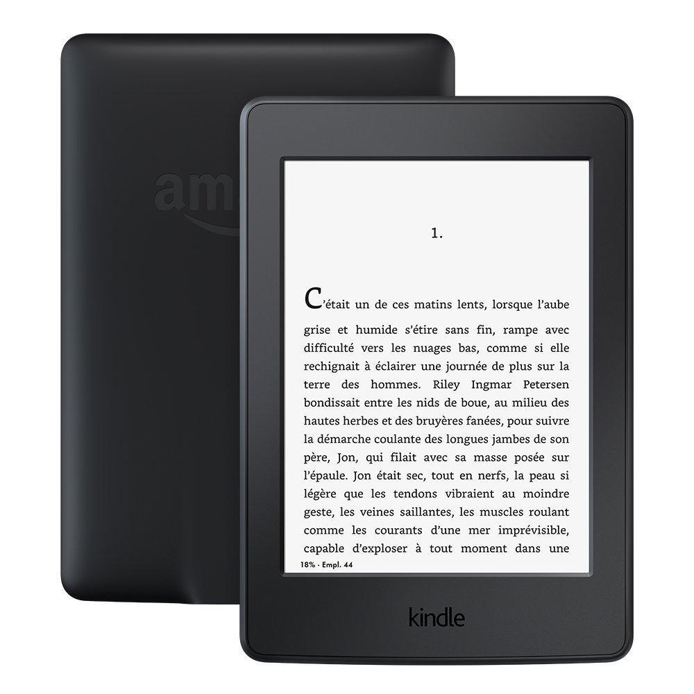 """[Membres Premium] Liseuse 6"""" Kindle Paperwhite - 300 ppp, Wi-FI avec publicités, blanc ou noir"""