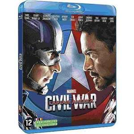 [Précommande] Blu-ray Captain America Civil War (via 4€ sur la carte)