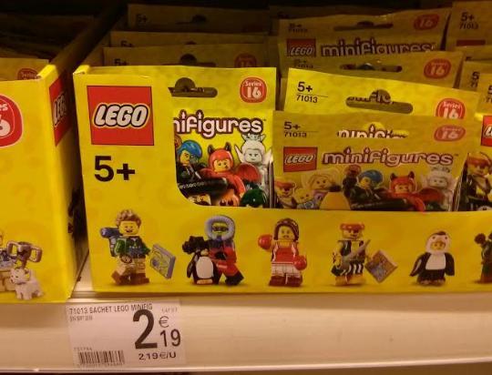 Paquet de Lego Minifigurines - série 16