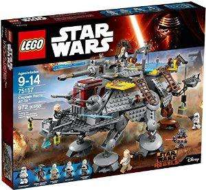 Jeu de Construction Lego Star Wars Captain Rex's AT-TE Construction Set n°75157
