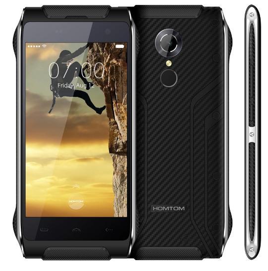 """Smartphone 4,7"""" Homtom HT20 - Etanche, Full 4G, Quad-core, 2 Go RAM, 16 Go ROM, 3500 mAh, plusieurs coloris"""