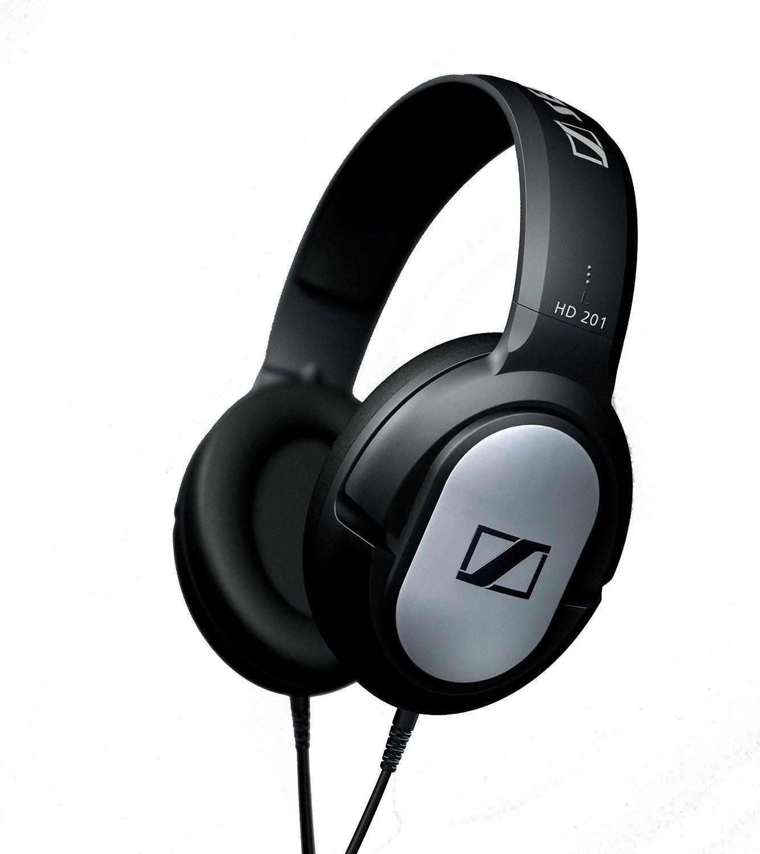 Casque audio Sennheiser HD201 DJ pro - Noir / Gris