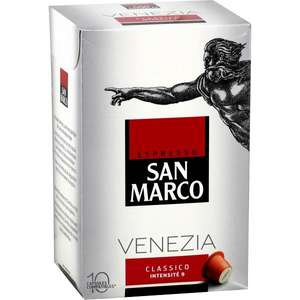 Lot de 4 paquets de Dosettes à Café San Marco - Variétés au choix (Via BDR)