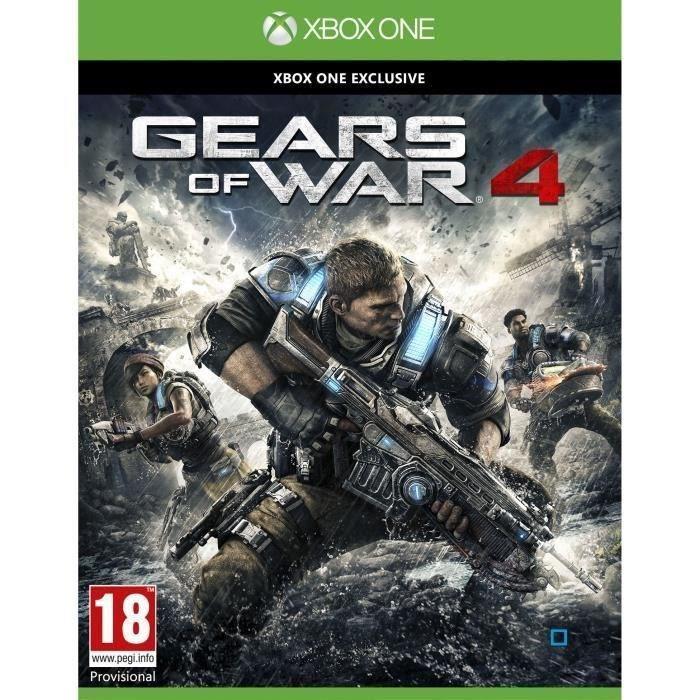 [Précommande] Gears Of War 4 sur Xbox One + Casquette + Bonus précommande