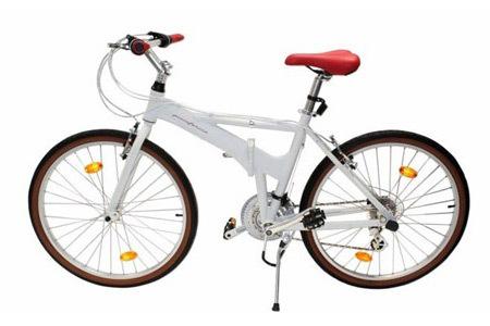 """Vélo pliant 26"""" Alu Pininfarina"""