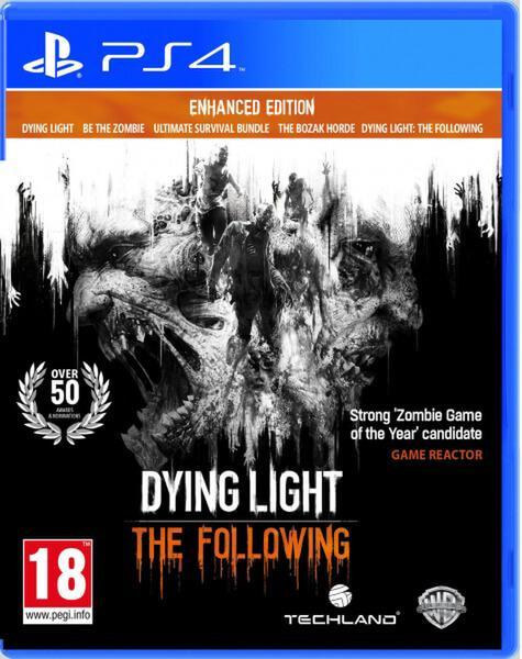Sélection de jeux en promotion - Ex : Jeu Dying Light: The Following sur PS4 - Enhanced Edition