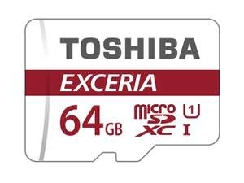 Carte microSDXC Toshiba Exceria M301 - 64 Go avec Adaptateur