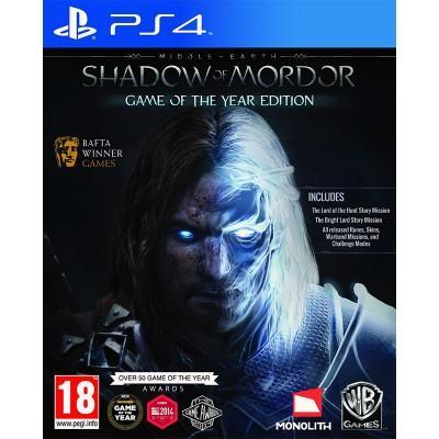 La terre du Milieu : L'Ombre du Mordor (Édition GOTY) sur PS4