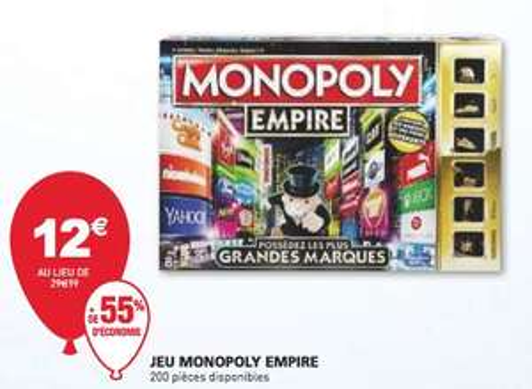 Jeu de société Monopoly Empire