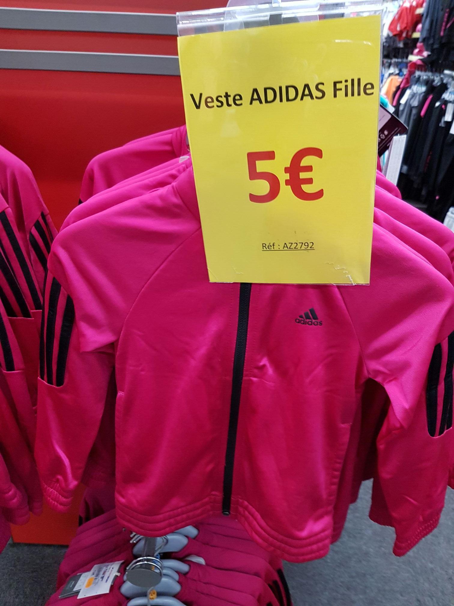 Veste Adidas pour fille - Rose
