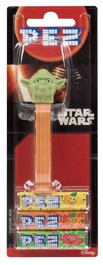 Distributeur Pez Star Wars + 3 recharges