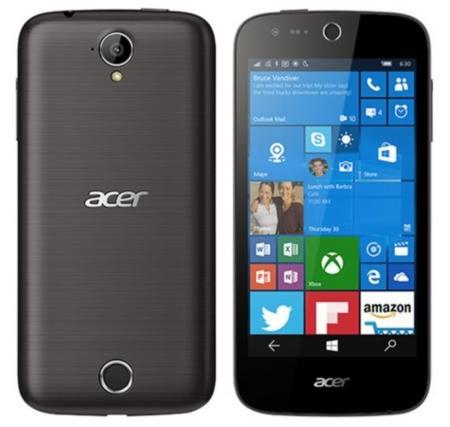 "Smartphone 4,5"" Acer Liquid M330 Dual SIM Noir - 4G, IPS 480 x 854, Quad-core Snapdragon 210 (via ODR de 30€)"