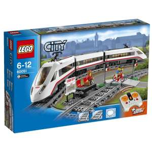 Jeu De Construction Lego City 60051 - Le Train De Passagers à Grande Vitesse