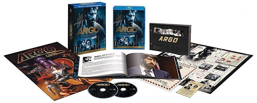 Coffret Blu-ray Argo - Version longue