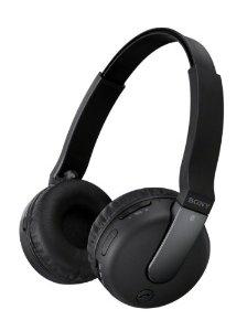 Casque sans fil Bluetooth et NFC Sony DR-BTN200B Noir