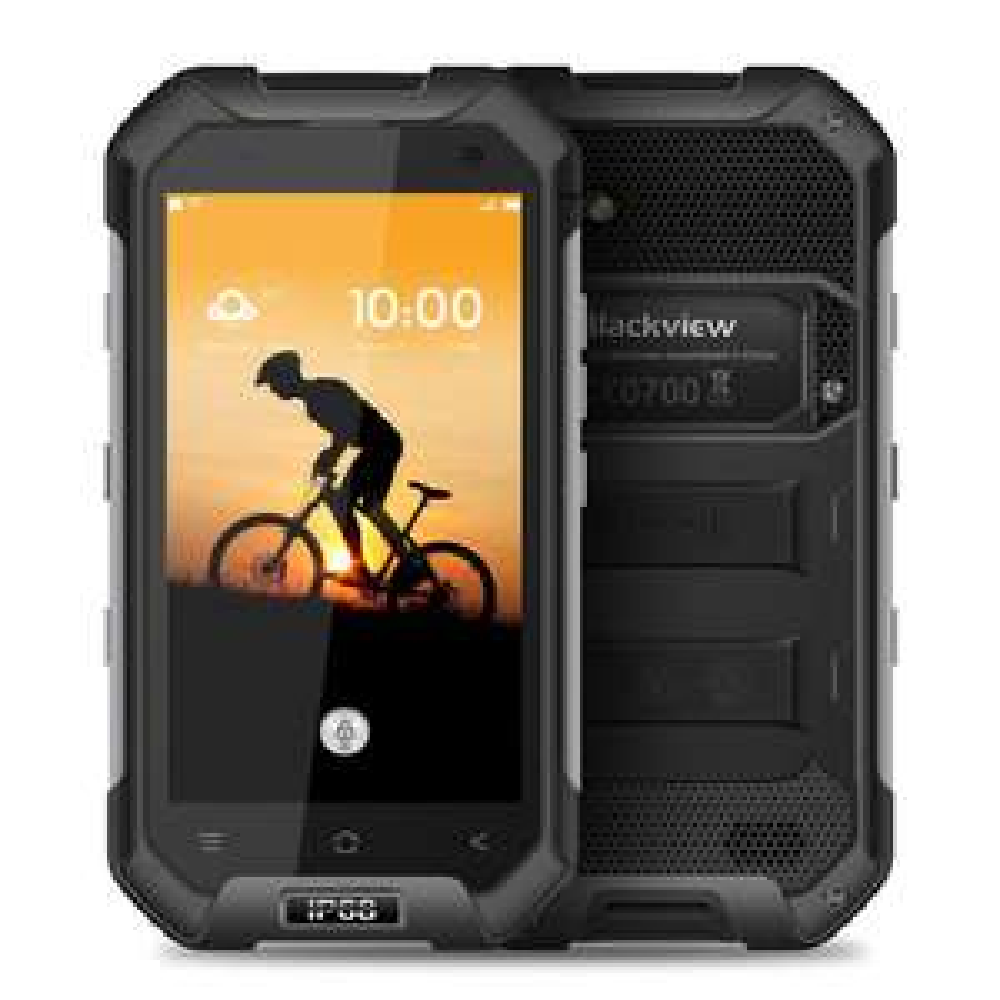 """Smartphone 4.7"""" Blackview BV6000S - 4G, étanche IP68, différents coloris"""
