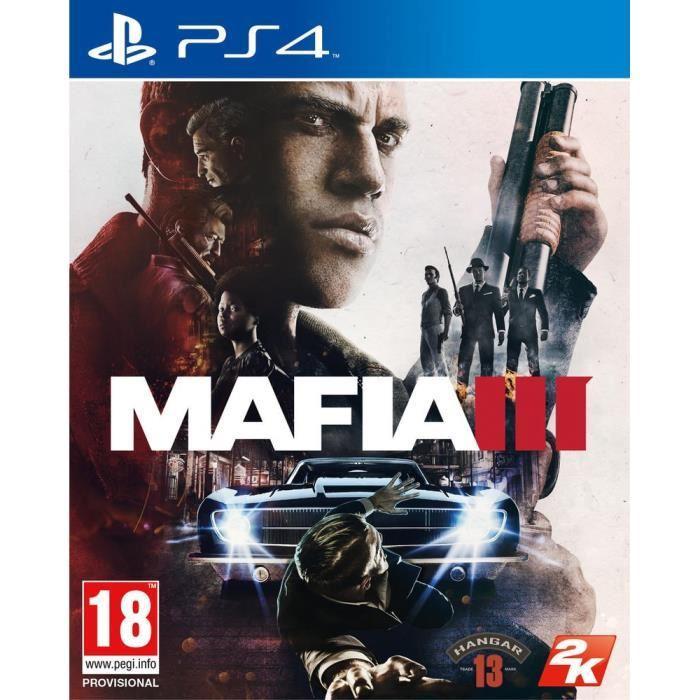 [Cdiscount à volonté] Précommande : Mafia III sur PS4 ou Xbox One