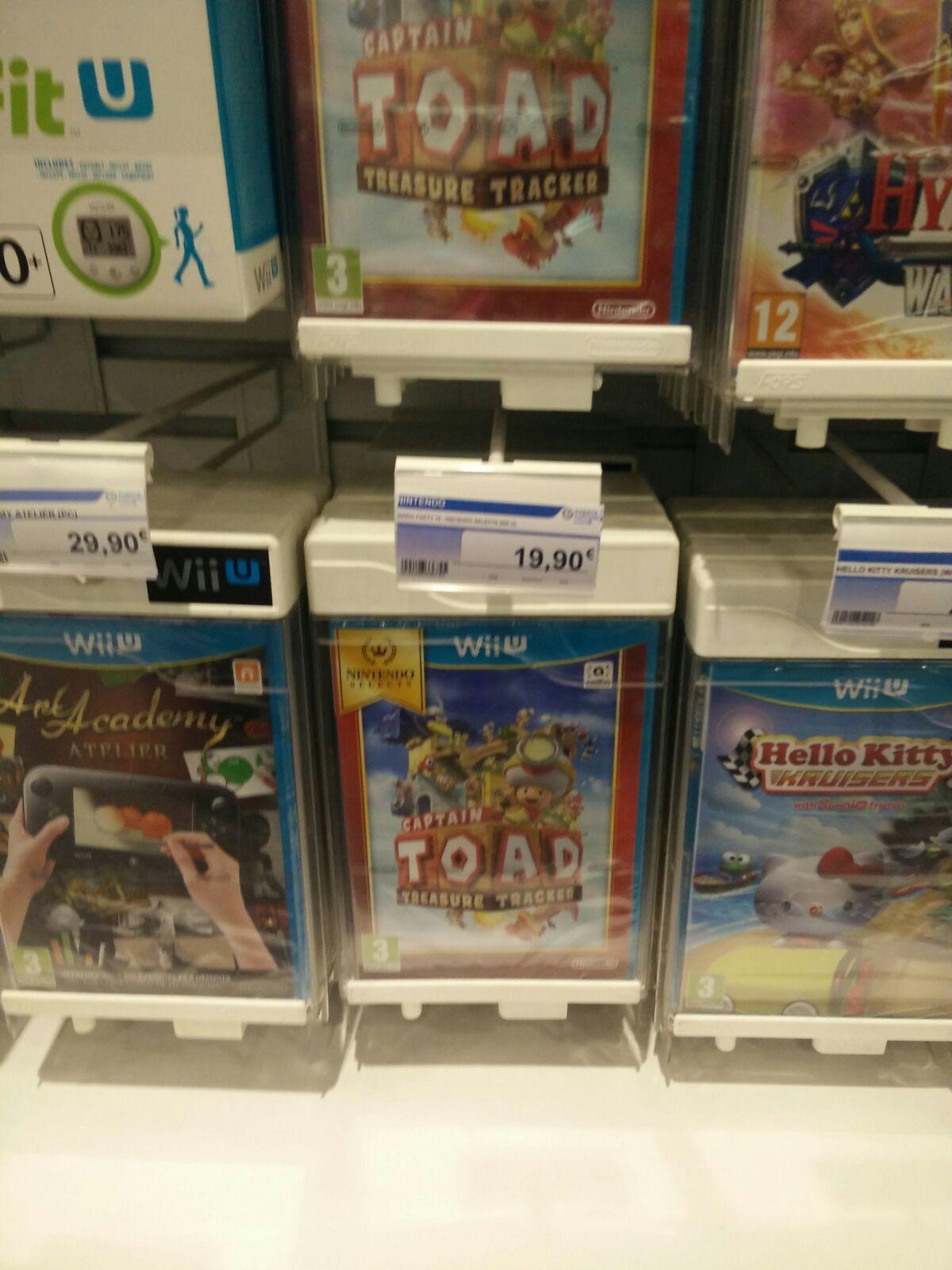 Sélection de jeux Wii U en promotion - Ex : Captain Toad Treasure