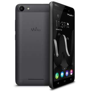 "Smartphone 5"" Wiko Jerry Dual SIM Space Grey - IPS, RAM 1Go, 8Go, Android 6.0 (via ODR 15€)"