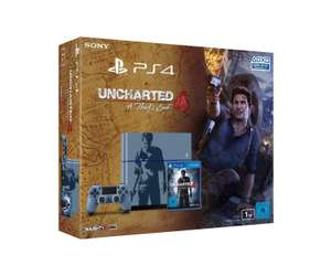Pack Console PlayStation 4 - 1To + Uncharted 4: A Thief's End Edition Limitée