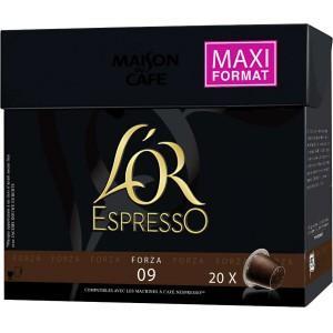 Lot de 20 capsules de café l'Or Expresso - Différentes variétés (via BDR)