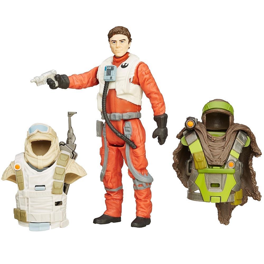 50% de réduction sur une sélection de jouets Star Wars Episode VII - Ex : Coffret figurine Poe Dameron