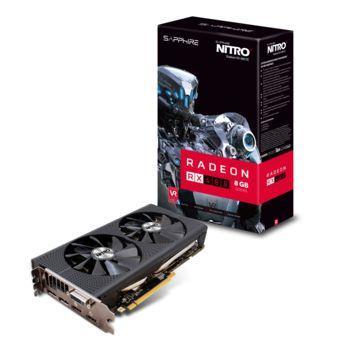 Carte graphique AMD  Sapphire Nitro+ Radeon RX 480 - 8 Go GDDR5