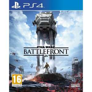 Star Wars : Battlefront sur PS4