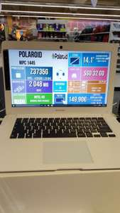 "PC Portable 14.1"" Polaroid MPC 1445 - Intel Z3735G, RAM 2 Go, eMMC 32 Go"