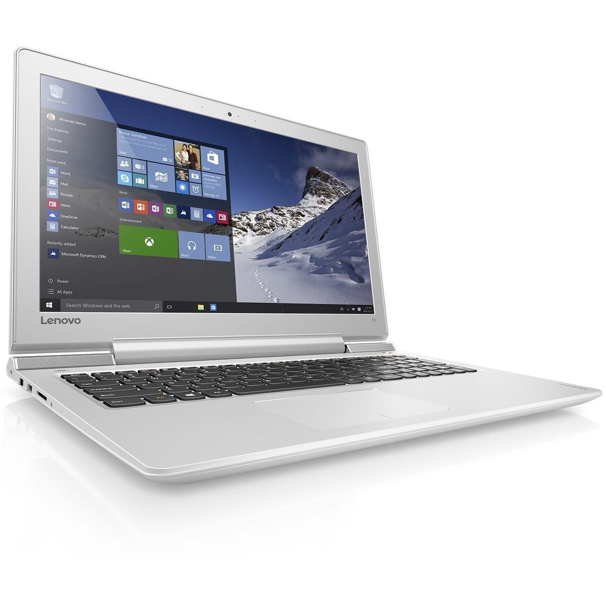 "PC portable 15.6"" Lenovo IdeaPad 700-15ISK-FFR (i5-6300HQ, GTX 950M, 8 Go de Ram, 1 To)"