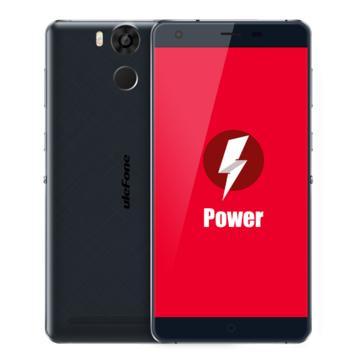 "Smartphone 5.5"" Ulefone Power Noir - Full HD, Octa-core MTK6753, RAM 3Go, 16Go, 6050mAh"