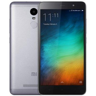 "Smartphone 5.5"" Xiaomi Redmi Note 3 Pro 4G Gris - Full HD, Hexa-Core, Snapdragon 650, RAM 2Go, 16Go, Android 5.1 (Version Internationale)"
