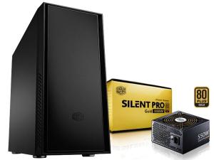 Boîtier PC Cooler Master Silencio 550 + Alimentation Silent Pro Gold 550w (79,90€ via Buyster)
