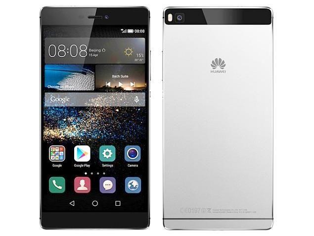 Smartphone 5.2'' Huawei P8 - 16 Go, Argent (via ODR de 40€)