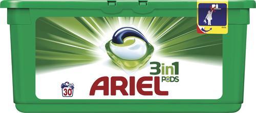Sélection de produits en promotions - Ex : Lessive liquide Ariel Pods 3 en 1 - 30 doses (via 6.97€ sur la carte + BDR)