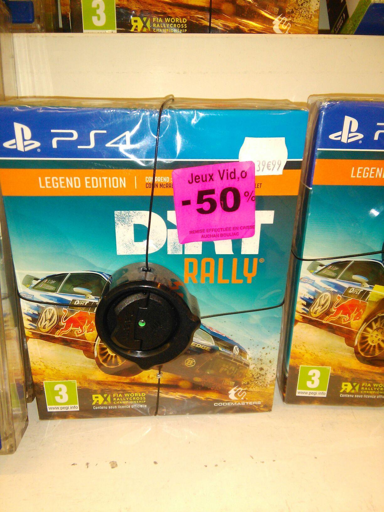 Dirt Rally - Legend Edition sur PS4