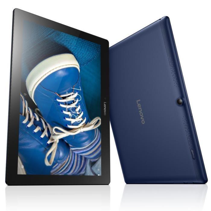 """Tablette 10.1"""" Lenovo Tab 2 A10-30 Bleu - RAM 2 Go, ROM 16 Go, Android 5.1 (via ODR de 20€)"""
