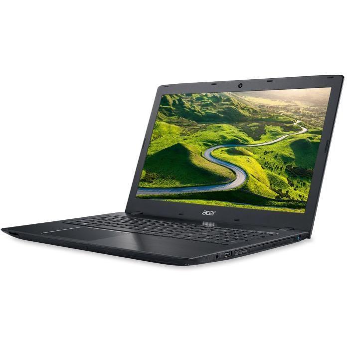 "PC Portable 15.6"" Acer Aspire E5-523G-907K - HD, AMD A9-9410 2.9 GHz, RAM 8 Go, HDD 1 To, Windows 10"