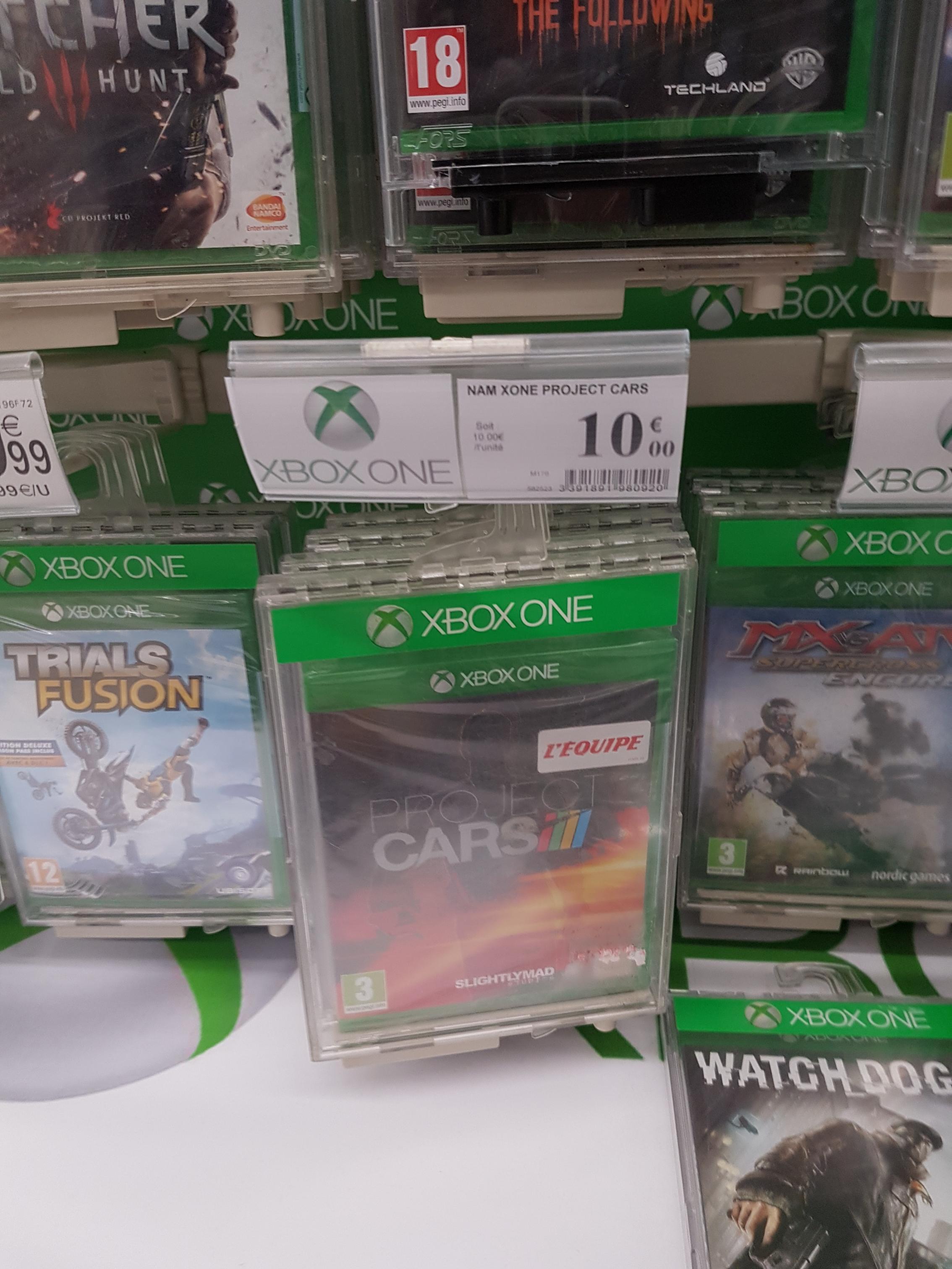 Project Cars sur Xbox One et PS4