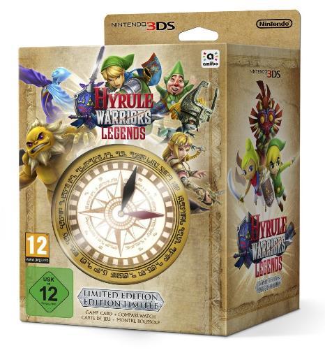 Hyrule Warriors : Legends - Limited Edition sur Nintendo 3DS