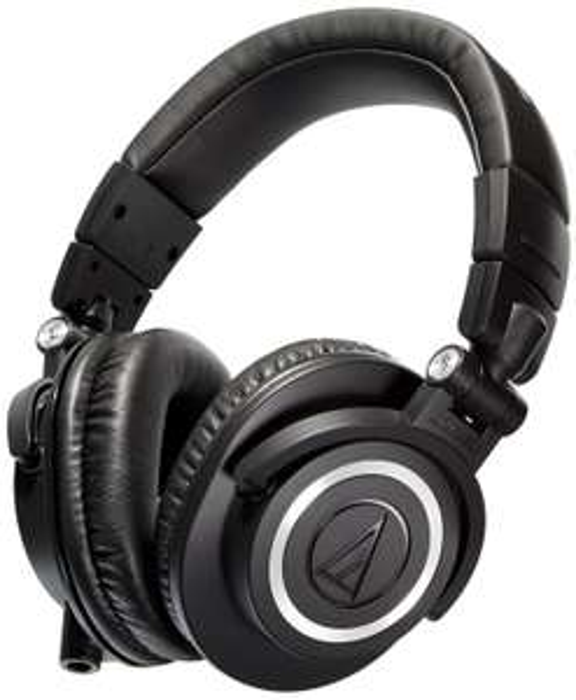 Casque Audio-Technica ATH-M50X - Noir