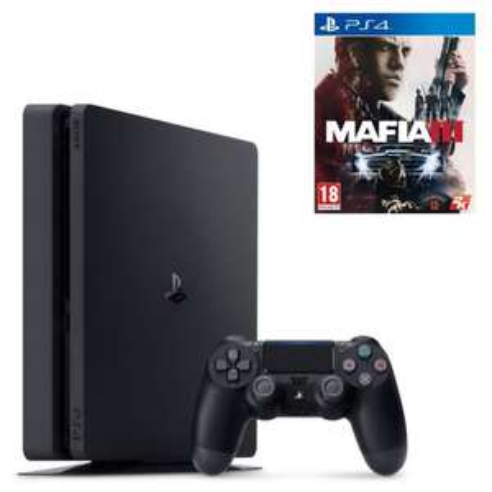 [Cdiscount à volonté] Console Sony PS4 Slim 1 To + Mafia 3