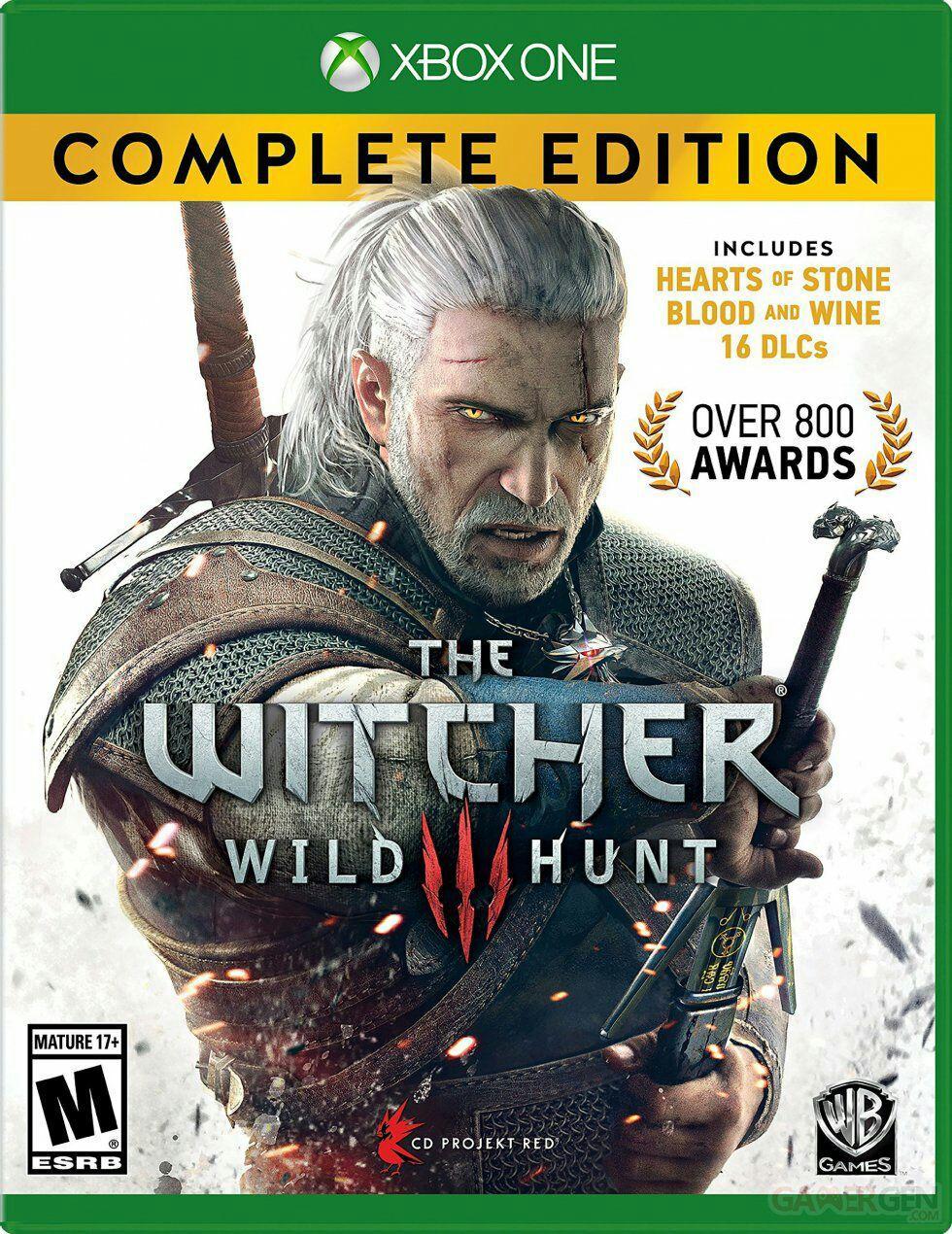 The Witcher 3: Wild Hunt GOTY sur Xbox One et PS4
