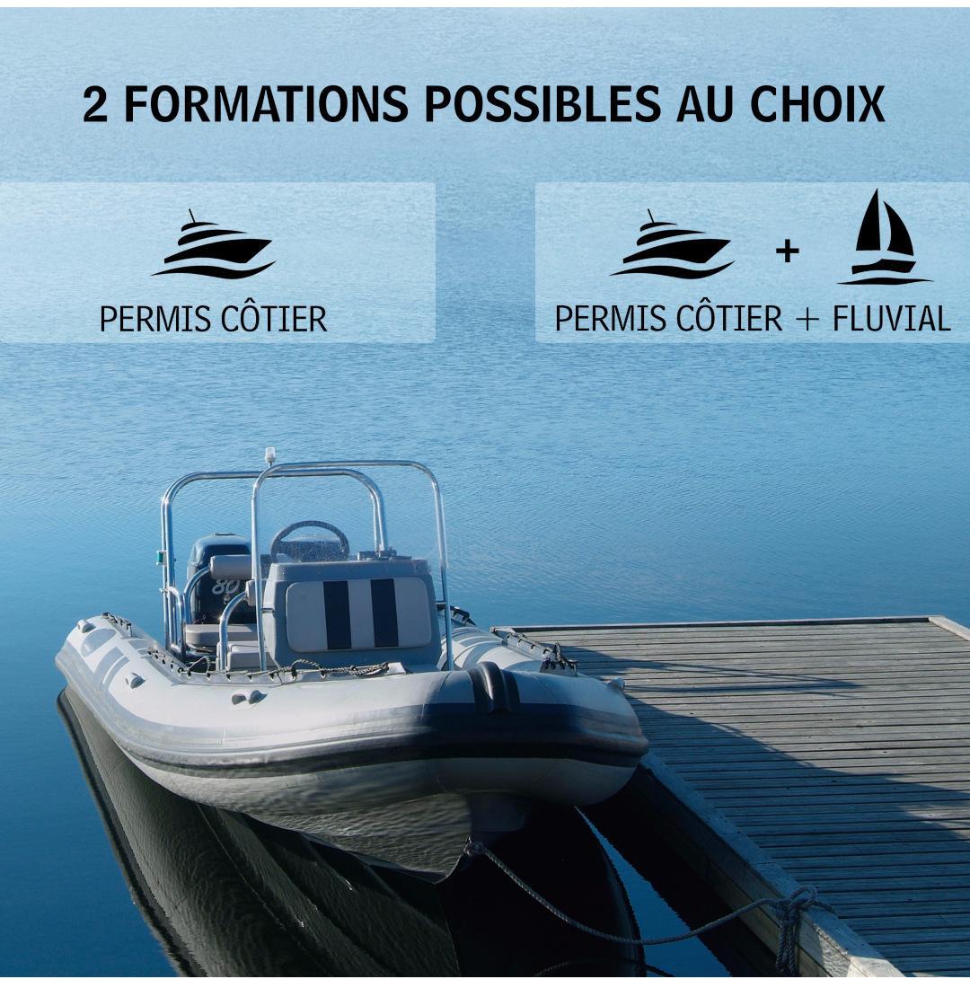 Sélection de Permis bateaux en promotion - Ex : Permis bateaux