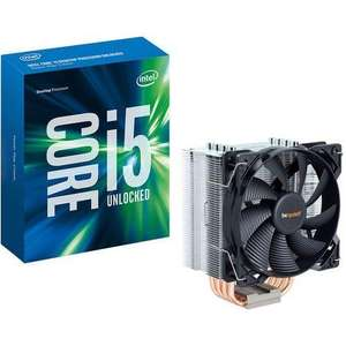 Processeur Intel Core i5-6600K (3.5 GHz) + Be Quiet ! Pure Rock