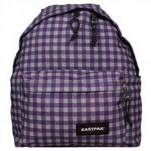 Sac à dos Eastpak Padded Pak'R - 24 L, Checksange Purple