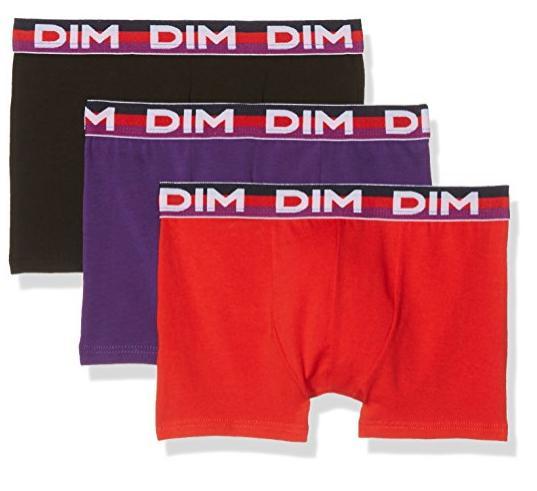 Lot de 3 boxers Dim 10/12 ans pour garçons