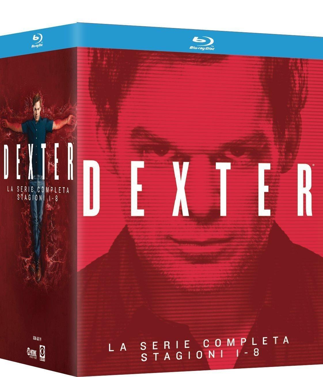Coffret Blu-ray : L'intégrale de Dexter : Saisons 1 à 8 (VO uniquement pour les saison 5 à 7)