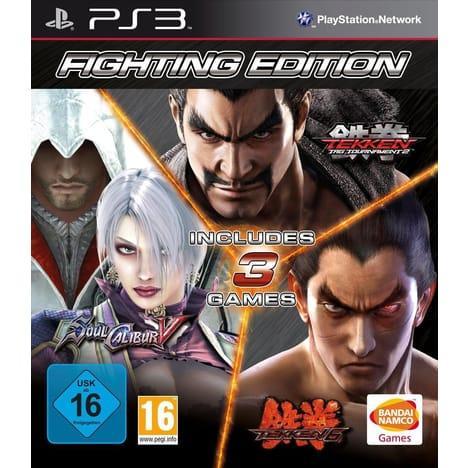 Tekken 6 + Tekken: Tag Tournament 2 + Soul Calibur V ou Pack One Piece sur PS3